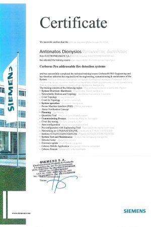 Siemens Cerberus Certificate-page-001